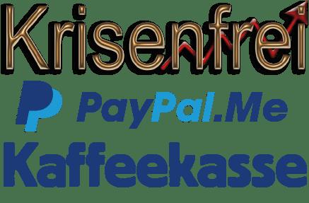 Krisenfrei Paypal.me Kaffeekasse Button